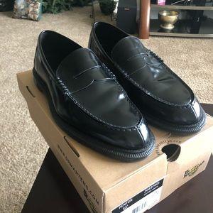 Dr Martin Penten Black Noir shoes